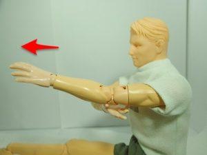のびスト肘6